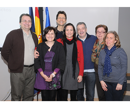 Representation of UNED team Kick-Off Madrid